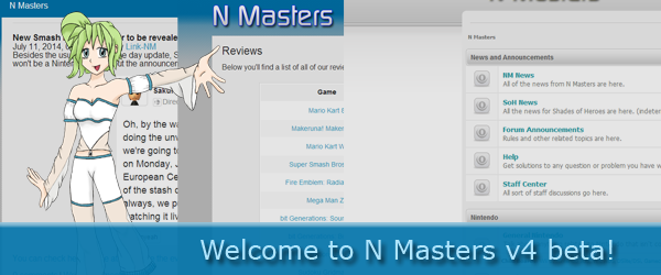 Welcome to N Masters v4 beta!